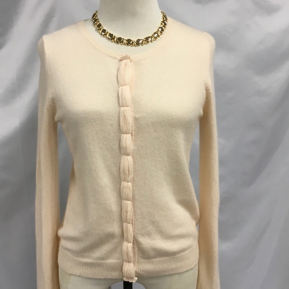 Boden Womens Alpaca Blend Jewel Button Cardigan Sweater Pink Size Extra Small